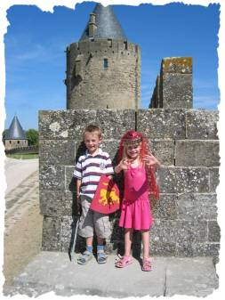 Great fun at Carcassonne